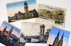 Von der Postkarte zum Printmailing ©stapag