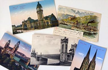 Alte Postkarten Köln und Rhein