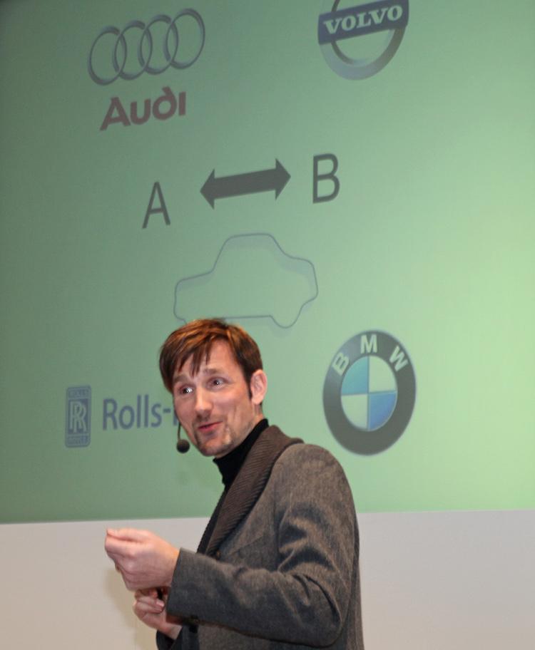 Olaf Hartmann prägt die Haptik im Marketing 2014 (Bild: stapag)