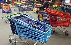 Die Evolution des Einkaufswagens ©stapag