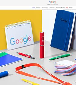 Screenshot des Google Merchandise Store