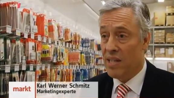 Der Haptikexperte Karl-Werner Schmitz (Bildquelle: WDR)