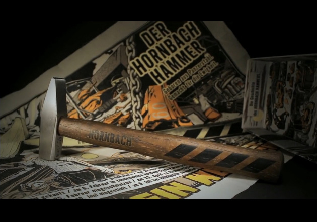 Hornbachs Panzer-Hammer, streng limitiert (Bildquelle: Hornbach)