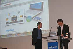 mailingtage-Referenten Grunwald und Hartmann