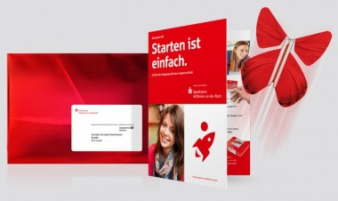 Magic Flyer Mailing für Sparkassen