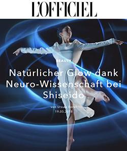 Neurowissenschaft inspiriert Hautpflege ©L'Officiel