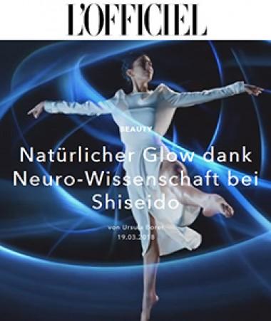 Werbung mit Tänzerin für Neuropflegecreme