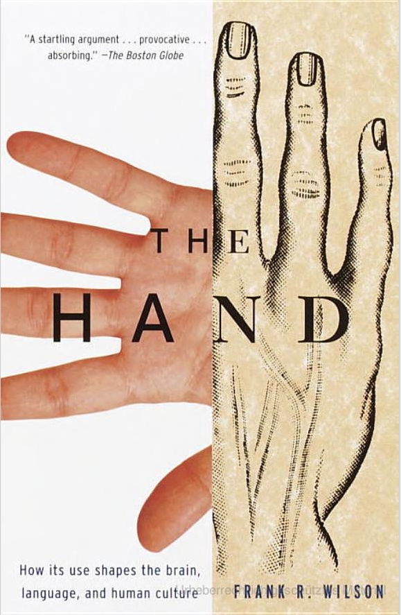 Die Hand als Ursprung der Kultur. (Bild: Vintage Books Ed)
