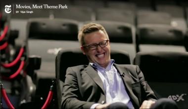 Forcierung der Multisensorik im Kinosaal