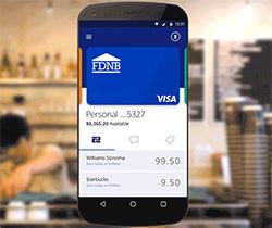 Video-Screenshot Visa threesensory branding