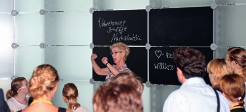 Workshop Multisensorische Textwerkstatt (Bildquelle: stapag))