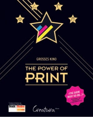 "Das Kinoplakat für die Roadshow ""The Power of Print"""