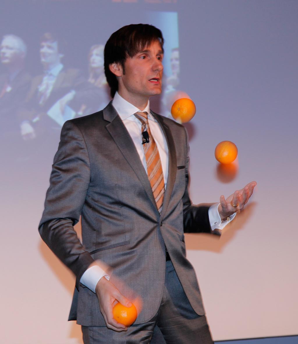 Jonglieren und Spiegelneuronen (Bildquelle: Multisense Institut)